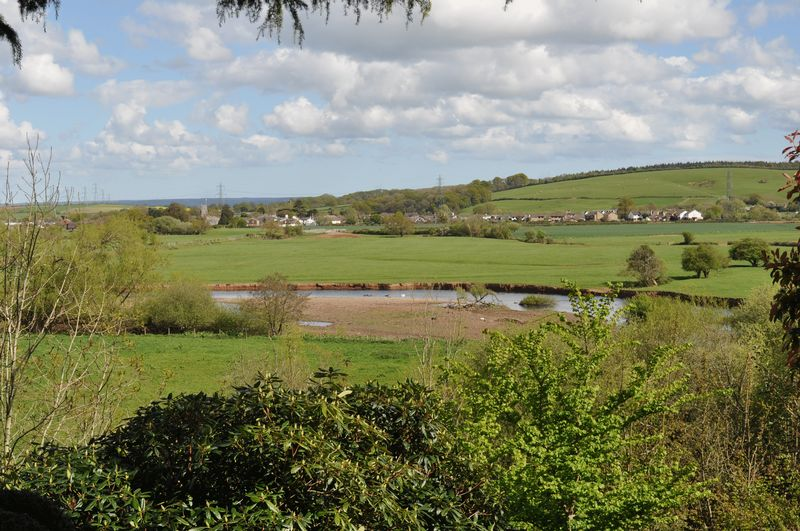VIEW ACROSS TO STOKE CANON